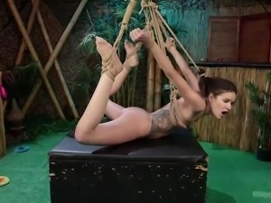 Mistress Cherry is in a playful mood, and her slave Eden, is there for her to...