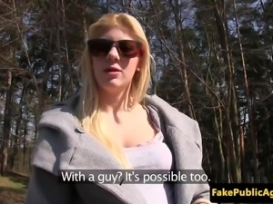 Pulled euro amateur spunked in public park
