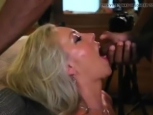 Wife take BBC load in her mouth