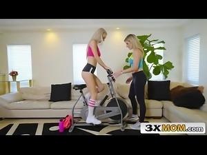 Moms Bang Teens - Workout freak - 01