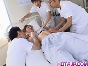 Sexy Asian Azusa Ayano is awakened for harsh banging