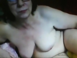 Ludmila, sexy Granny Old Slut, 61 yo! Belarus! Amateur cam!