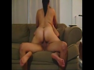 MILF with big ass fucking on couch snap Emmapac