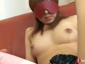 Blindfolded Shy Japanese Squirting Teen