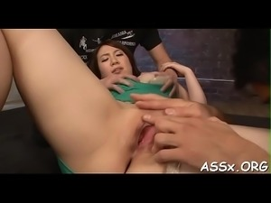 Sizzling hot asian ace fuck