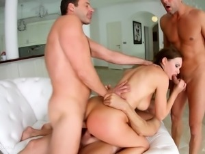 Hot Tina Kay gets a load of creampie at All Internal