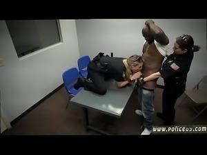 Milf interracial double penetration Milf Cops