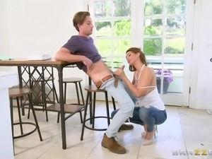 Lucas is one lucky fucker! Not only does he have a stepmother who has a...