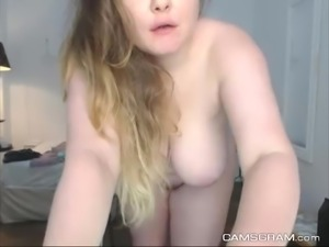 Adorable Big Natural Boobs Curvy Awesome Webcam Show