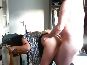 Emotional orgasm for sexy mature mom
