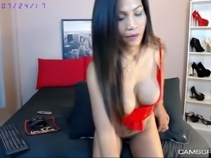 Adorable Big Boobs Thai Waits For Your Cock