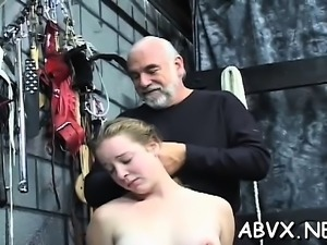 Tight pussy bizarre thraldom in home xxx video