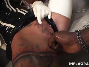Fetish Interracial German Milf Sex Slave