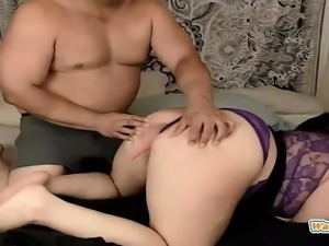 Mature bbw couple on webcam
