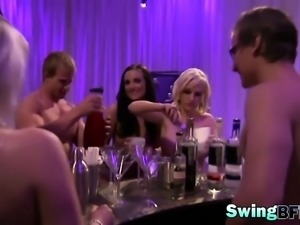 Swingers playing dirty games in reality show