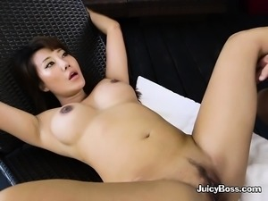 Luscious Boss Tiffany Rain Gets Her Pussy Plowed