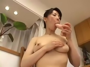 Hot Japanese wife Masturbate 22